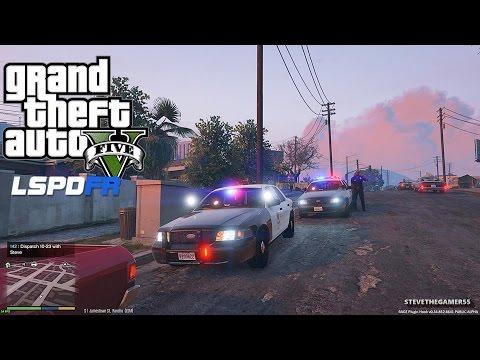 GTA 5 LSPDFR 0.3 - EPiSODE 2 - LET'S BE COPS - CITY PATROL (GTA 5 PC POLICE MODS)
