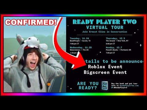 14+ Ready Player Two Roblox Event Release Date