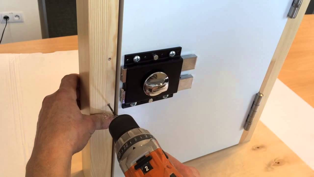 Gerda G1000 Rim Lock Mounting Standard Version Youtube