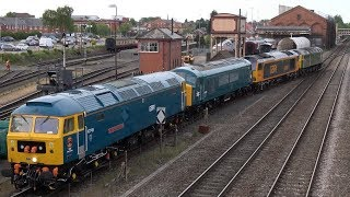 66007, NMT, 4-loco convoy, 50035 & 1501 Kidderminster, 15/05/19, Part 1