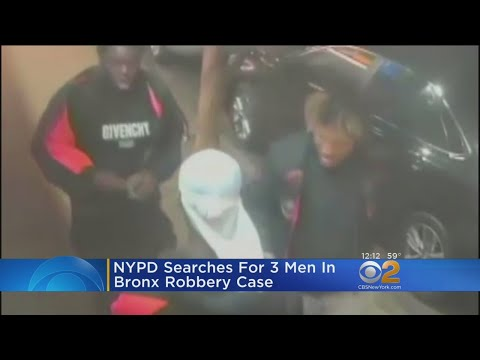 Police: Victim Beaten, Robbed By 3 Men In The Bronx