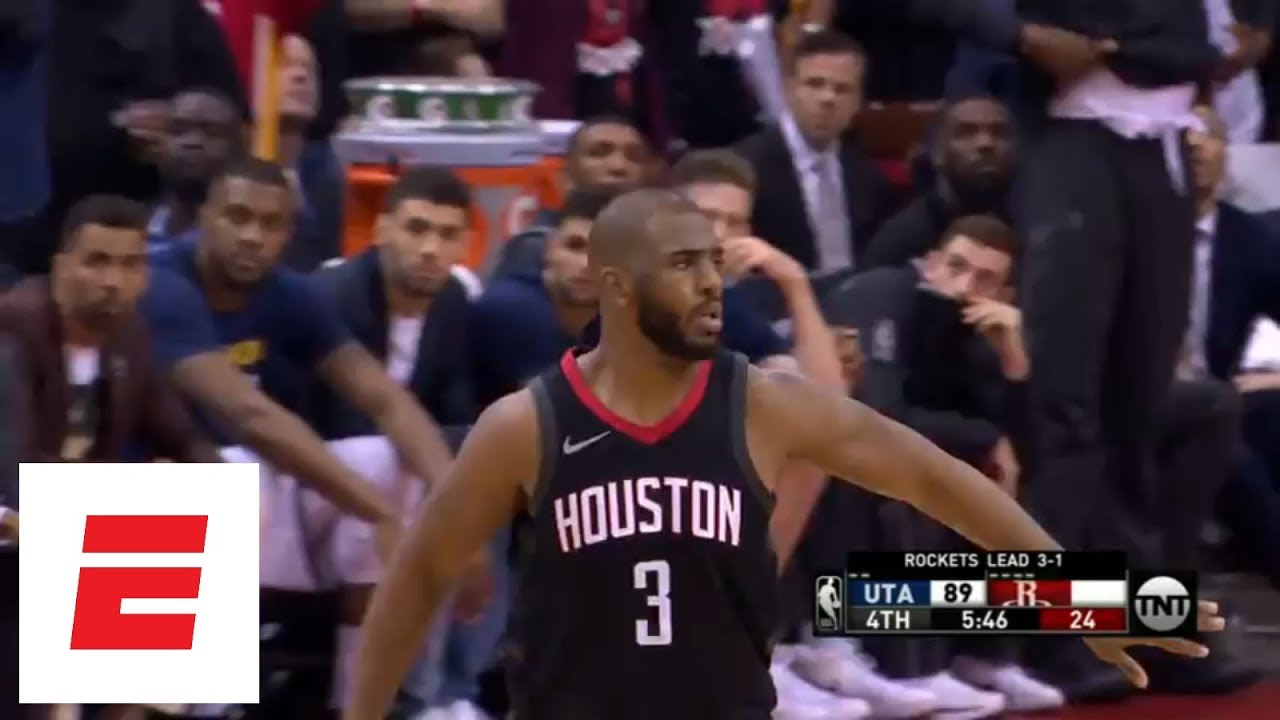 b6f3bdce914 Highlights  Chris Paul (41 points) and Rockets send Jazz packing with  112-102 Game 5 win