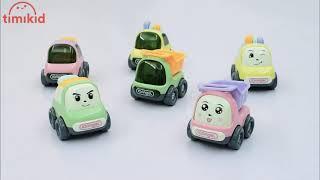 Đồ chơi ô tô chạy cót phong cách Hàn Quốc chọn màu bé trai, bé gái