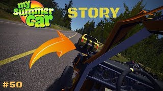 TOWING through a YELLOW car - Carousel - My Summer Car Story #50