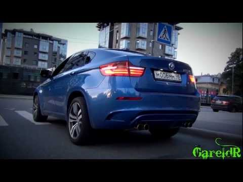 CRAZY 2013 BMW X6M - REVS, Massive Accelerations, Fly Bys - Racing In The City!
