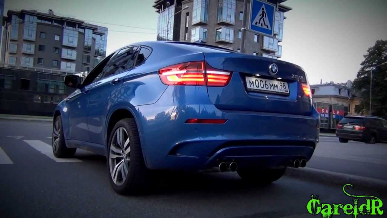 crazy 2013 bmw x6m revs massive accelerations fly bys racing in the city youtube. Black Bedroom Furniture Sets. Home Design Ideas