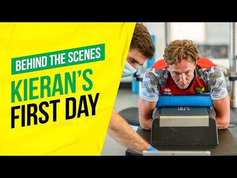 Behind-The-Scenes: Kieran Dowell's first day at NCFC 🔰