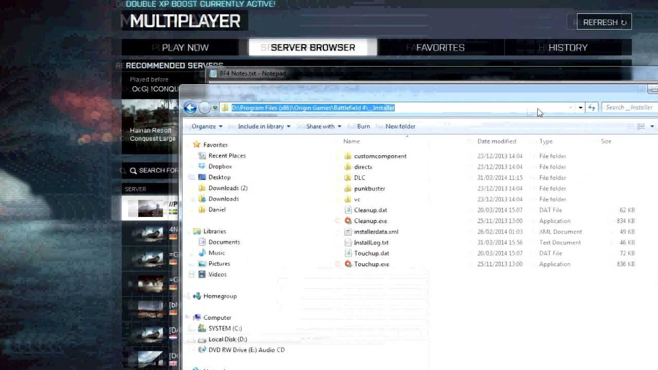 Bf4 unable to join server fix - YouTube