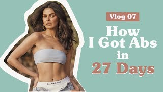 How I Got Abs in 27 Days | Janine Gutierrez