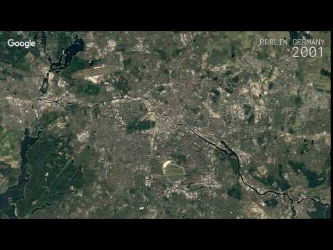 Google Timelapse: Berlin, Germany