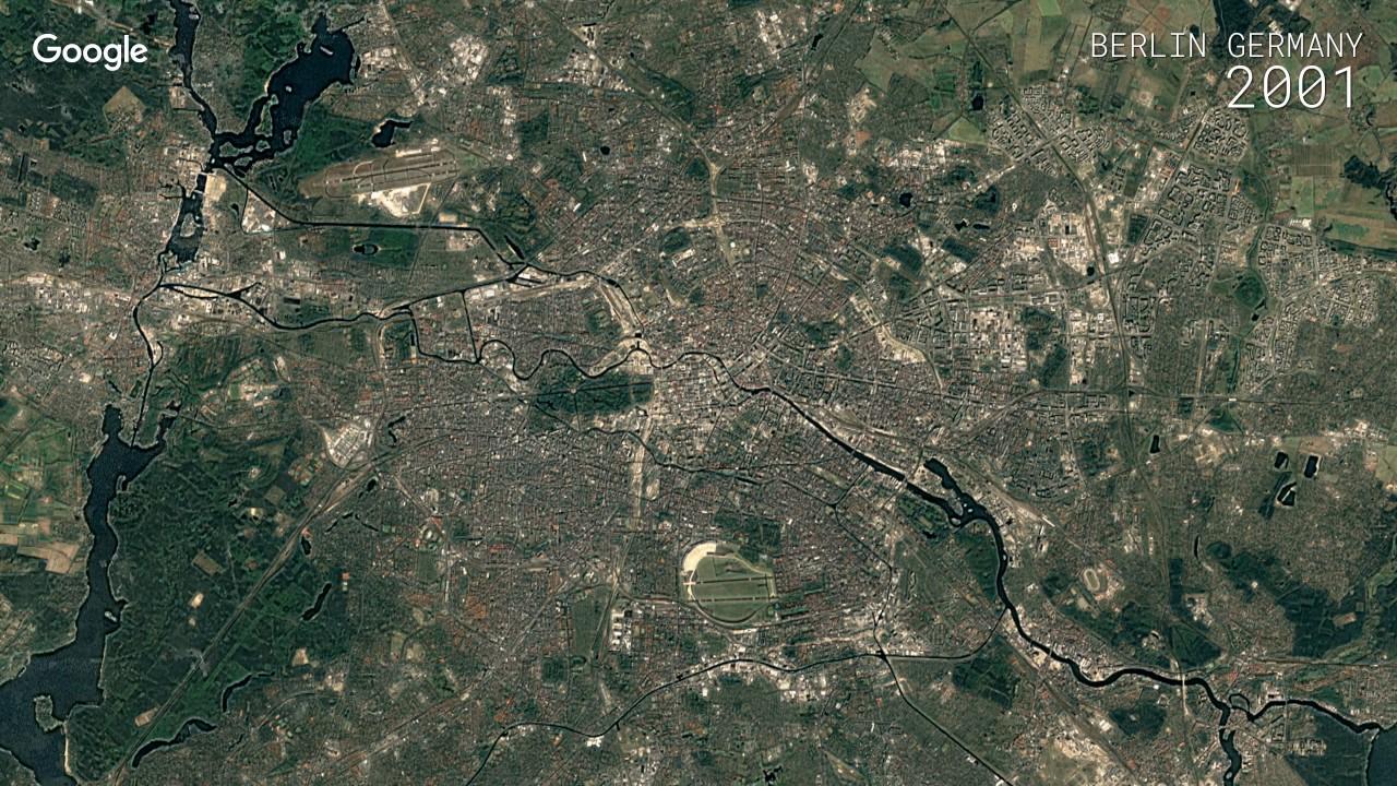 Map Of Germany Google Earth.Google Timelapse Berlin Germany
