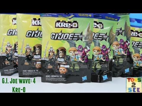 GI Joe Kre-O wave 4 by Hasbro Blind Bags Opened *ten(10) total*