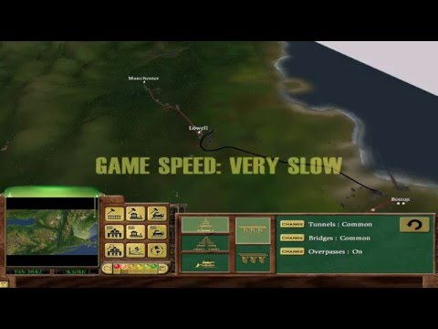 """Railroad Tycoon 3 - Episode 1 - """"Go West!"""" - Hard difficulty/Gold medal/Tutorial"""