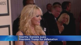 Porn Star Stormy Daniels Suing Trump For Defamation