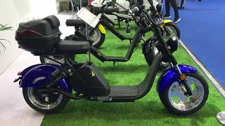 Обзор электро скутера City Coco 3000W (Сити Коко 3000Вт) на выставке электротранспорта в Китае