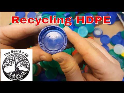 Making a HDPE (High-density polyethylene) Blank for turning on the lathe