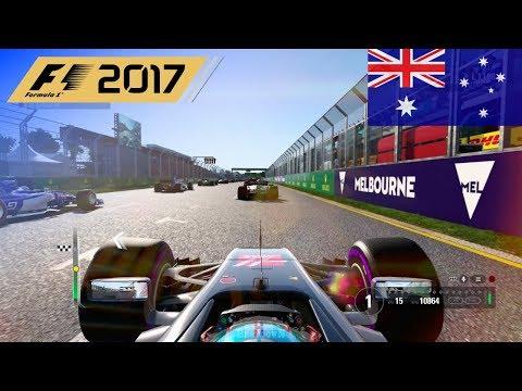 F1 2017 - 100% Race at Albert Park Circuit, Melbourne, Australia in Grosjean's Haas