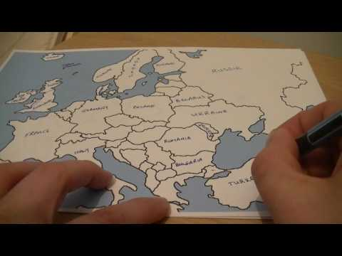 European Geography Whisper  (Learn With Kev!)