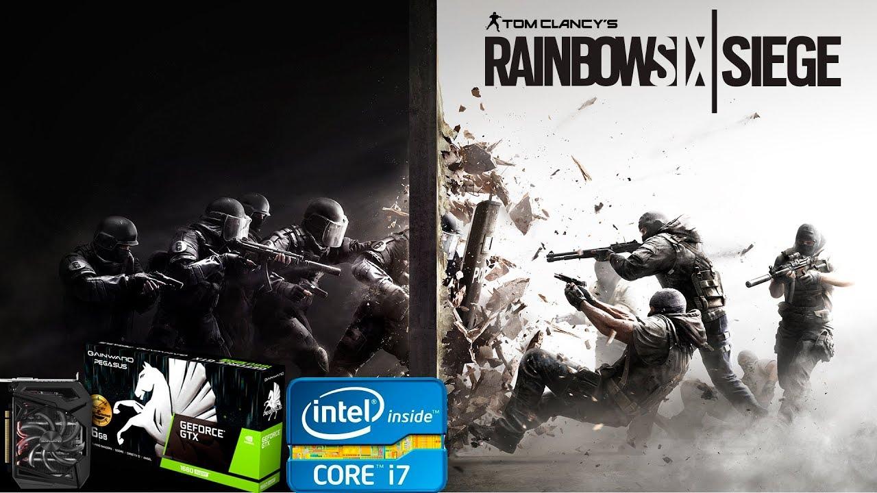 Tom Clancy's Rainbow Six  Siege GTX 1660 - i7 3770
