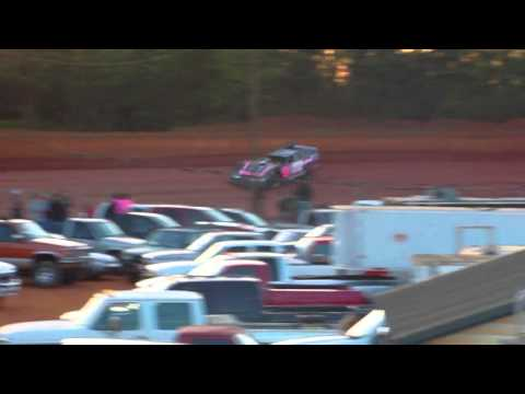 Laurens County Speedway Crate Hot Laps 4/20/13