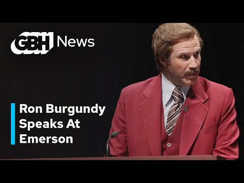 Ron Burgundy At Emerson College