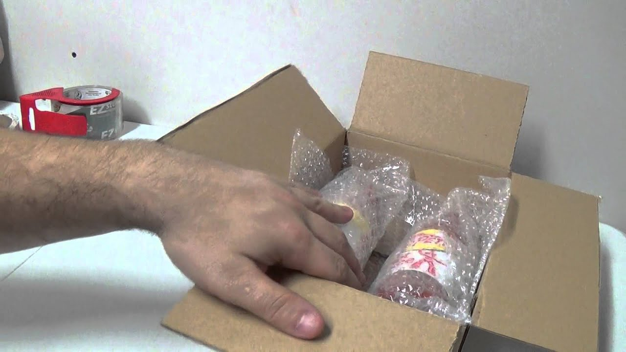 How To Properly Pack And Ship Glass Or Breakable Items