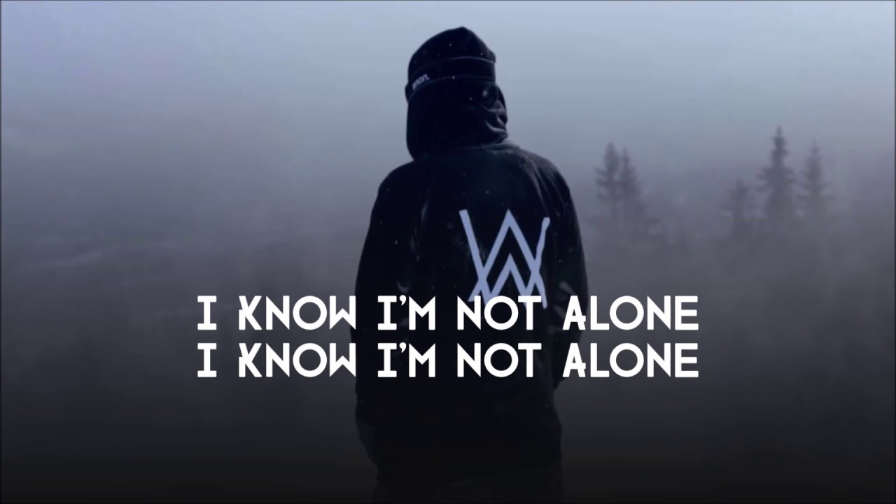 Lirik Lagu Alan Walker - Alone