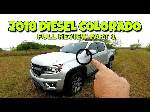 2018 Chevy Colorado Z71 Duramax! Full Review!!