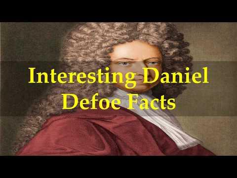 Interesting Daniel Defoe Facts