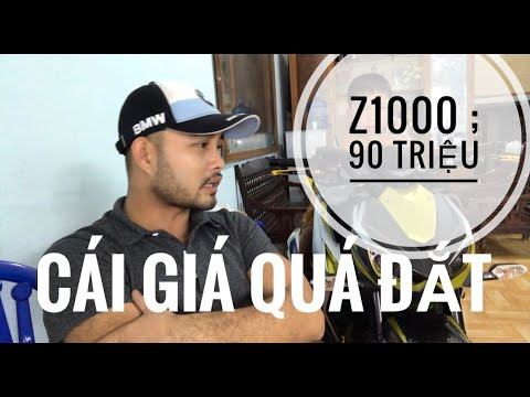 Kawasaki Z1000 Date 2015 : 90 Triệu ( Giá Quá đắt )