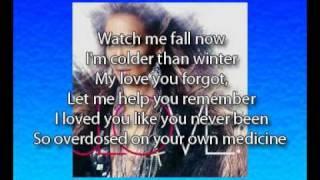 Jennifer Lopez - Villain, lyrics on screen