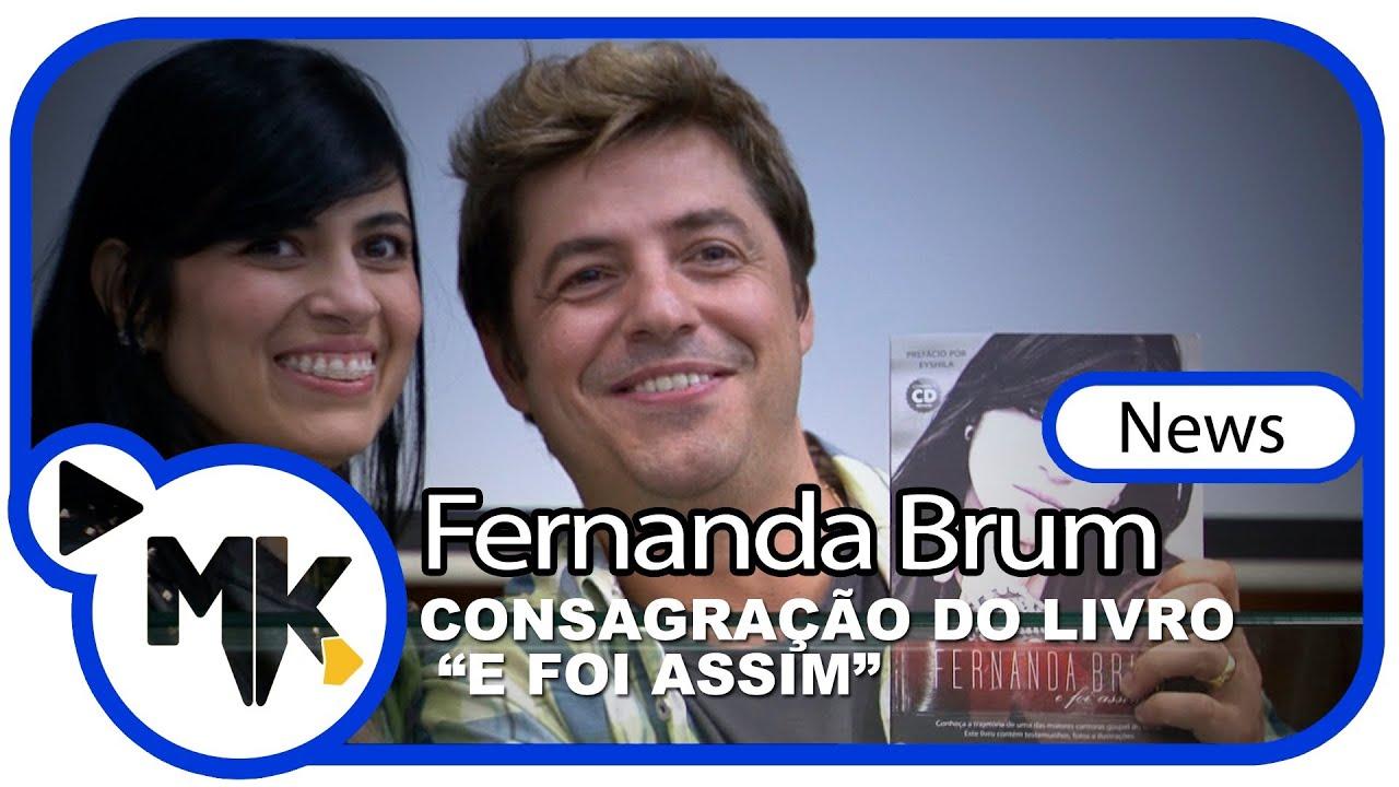 Fernanda Brum -- Consagração e lançamento do livro