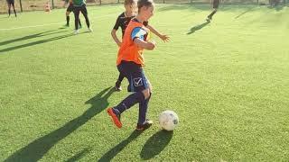 Футболісти Прикарпаття провели урок фізкультури в школі №28