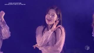 오마이걸 OH MY GIRL Live Tokyo Japan 6.JAN.2019 #02 Closer 클로저
