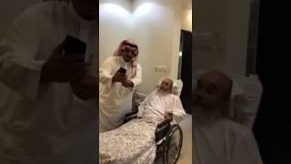 بالفيديو.. رئيس الهلال يزوز المشجع هاجد السبيعي - صحيفة صدى الالكترونية