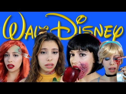 Thumbnail: Dead Disney Princess Halloween Makeup!