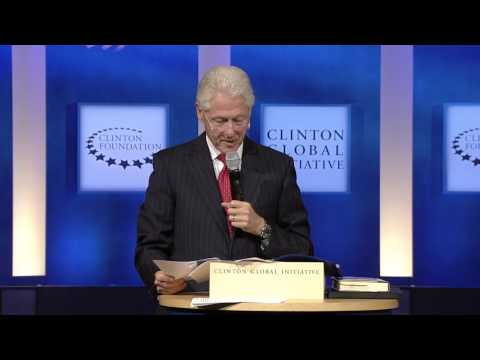 President Clinton Introduces Hult Prize Award Winners - CGI 2014 Annual Meeting