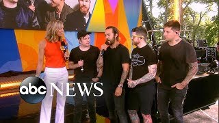Catching up with Fall Out Boy live on &#39GMA&#39