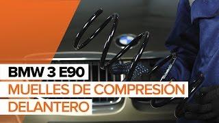 Cómo reemplazar Muelles amortiguadores BMW 7 (F01, F02, F03, F04) - vídeo manual paso a paso