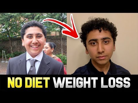 HOW TO LOSE WEIGHT FAST   How I Lost 10KG In 1 Month Without Dieting (Teenager Weight Loss)