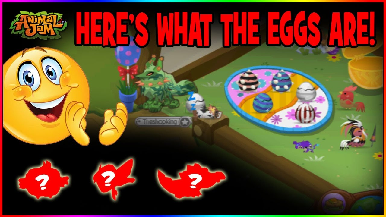 Animal Jam Halloween Pet Eggs 2020 SPOILER! THE PET EGGS HATCH INTO THESE! ANIMAL JAM   YouTube
