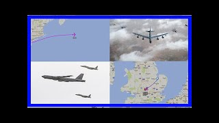 Breaking News | U.S. B-52 Bomber Performs Show Of Force Over Moroccan Range During Exercise African