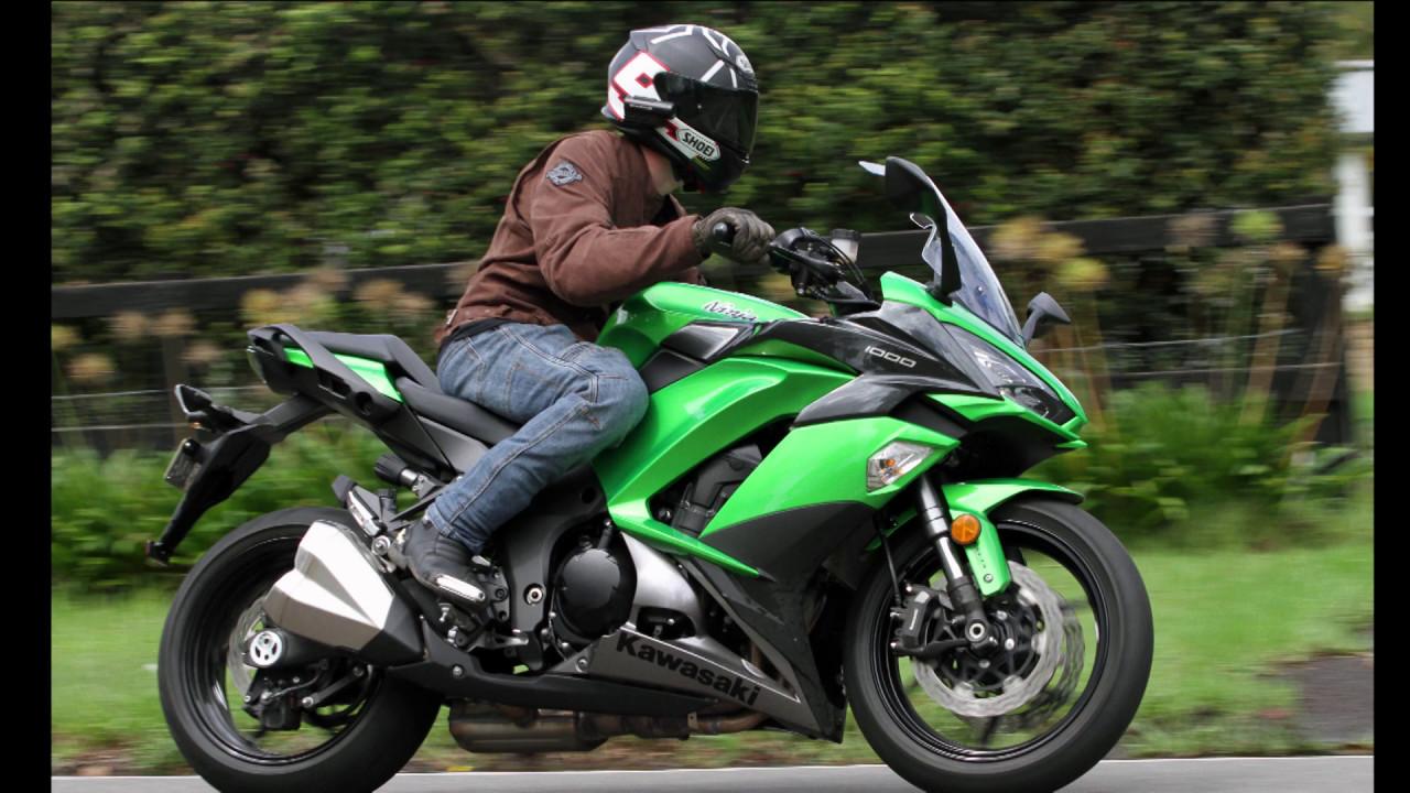 2017 Kawasaki Ninja 1000 - Bike Review - YouTube