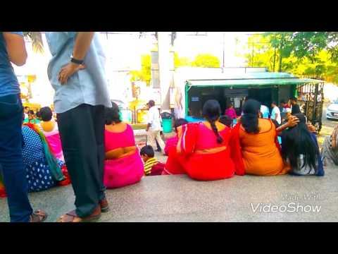 Bahubali 2, 50thday, Audions hangama at prasad imax large screen