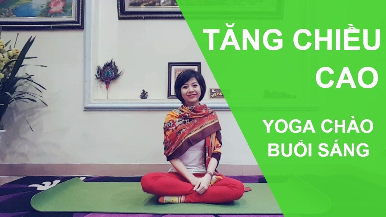 yoga tăng trưởng chiều cao