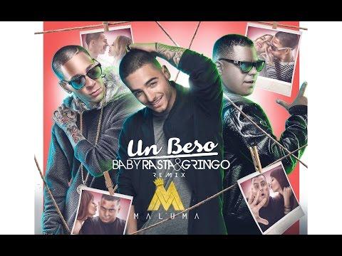 Baby Rasta y Gringo Feat Maluma - Un Beso Remix (Video Lyrics)