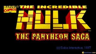 The Incredible Hulk: The Pantheon Saga gameplay (PC Game, 1996)