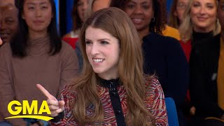 Anna Kendrick gets into the Christmas spirit in 39Noelle39 l GMA