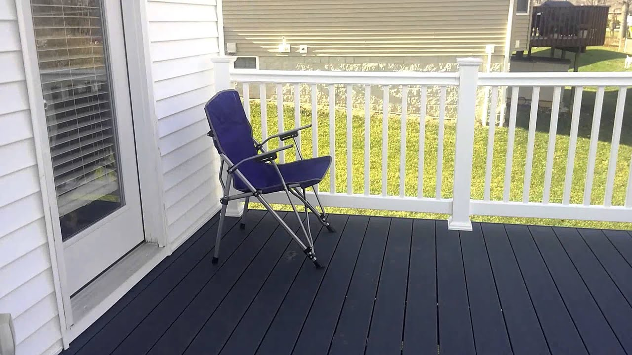Trex Deck W Winchester Grey Decking Youtube