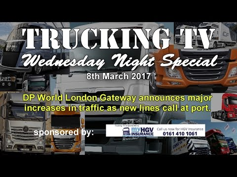 Wednesday Night Special, 8th March, 2017 - big increase in Gateway port traffic predicted: